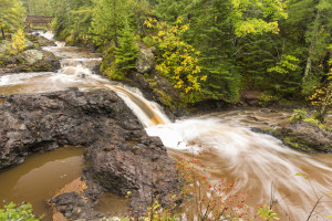 Amnicon Falls State Park has several small waterfalls that offer great beauty and thrilling hiking opportunities.